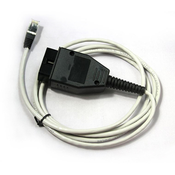 E-SYS ICOM ENET Ethernet RJ45 To OBD2 Connectors Car Programming Coding Cables For F-Series OBD Diagnostic Tools