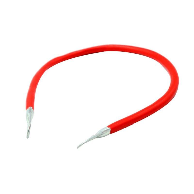 1 пара 5AWG Калибр медный кабель питания инверторный провод 50 см длина прочная смола + медный материал для лодки/Rv/автомобиля