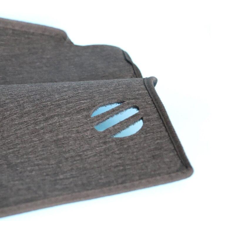 Image 5 - A Little Change Car dashboard cover Mats Avoid light pad Instrument platform desk Carpets For Tesla MODEL S X