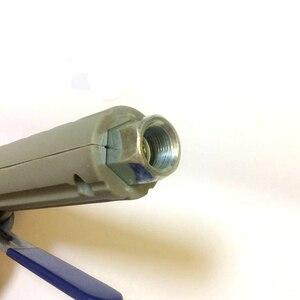 Image 5 - JL pistola de chorro de arena de aire con 8 piezas, boquillas de chorro de arena para tanques de chorro portátiles de 5 galones