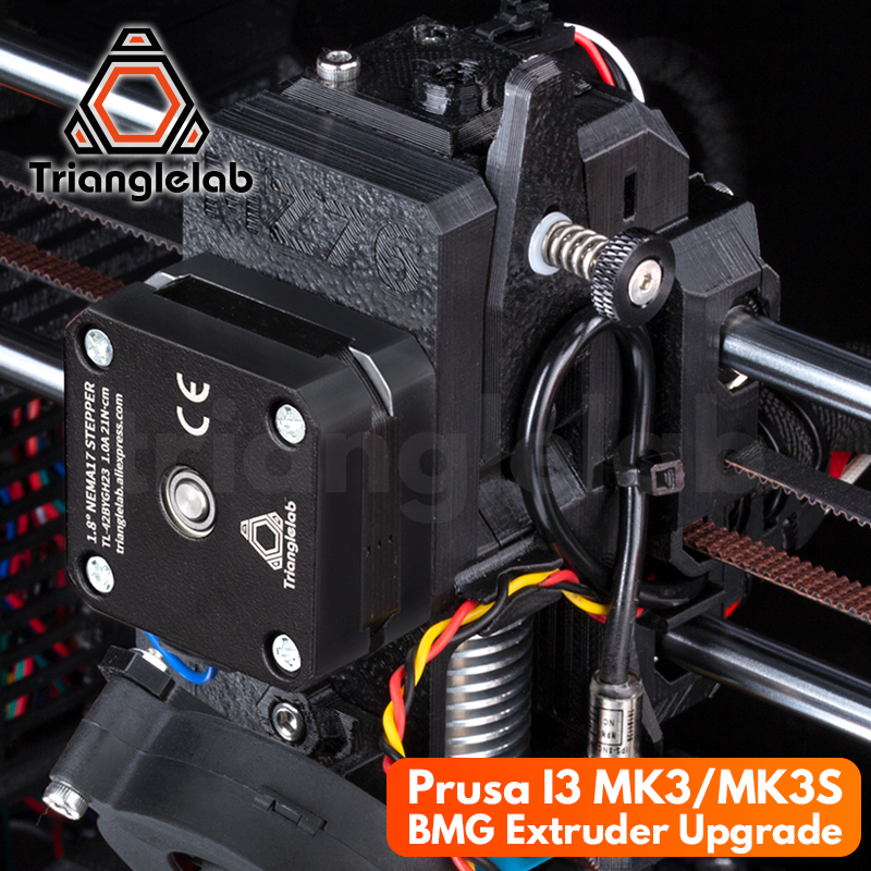 trianglelab Prusa I3 MK3 MK3S Upgrade print Quality improvement BMG extruder Program 3D printer extrusion head upgrade program