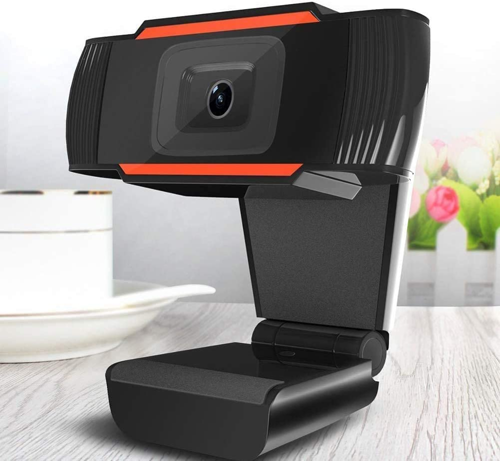 HD 1080P Webcam Auto Focus  USB Web Camera Rotatable Webcams 6 Glass Lens Cameras With Noise Reduction Mic For Live Skype PC