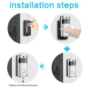 Image 5 - GEEKAM WiFi Video Campanello V5 Smart IP Video Citofono WI FI di Video Telefono Del Portello Per Gli Appartamenti IR di Allarme Senza Fili di Sicurezza Della Macchina Fotografica