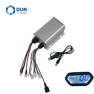 Sabvoton SVMC7245 60V 72V 45A 1kw skillful programmable bldc motor controller with Hall meter and Bluetooth