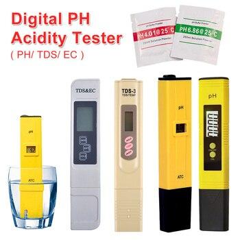 PH /TDS/ EC Tester Pocket Pen Type Water PH Meter Digital Tester 0.0-14.0 PH /0-9990ppm for Aquarium Pool Water Laboratory цена 2017