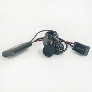 Автомобильный стерео Bluetooth микрофон Biurlink, комплект громкой связи для телефонных звонков, музыкальный AUX-IN, аудио адаптер для Opel CD30 CDC40 CD70 DVD90