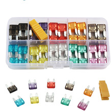 Car-Fuse Blade Assortment-Set Auto Small-Size for Truck 2/3/5-/.. with Plastic-Box 120pcs-Profile