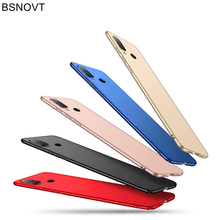 For Xiaomi Redmi 7 Case Silm Luxury Ultra-Thin Smooth Hard PC Back Cover Funda BSNOVT