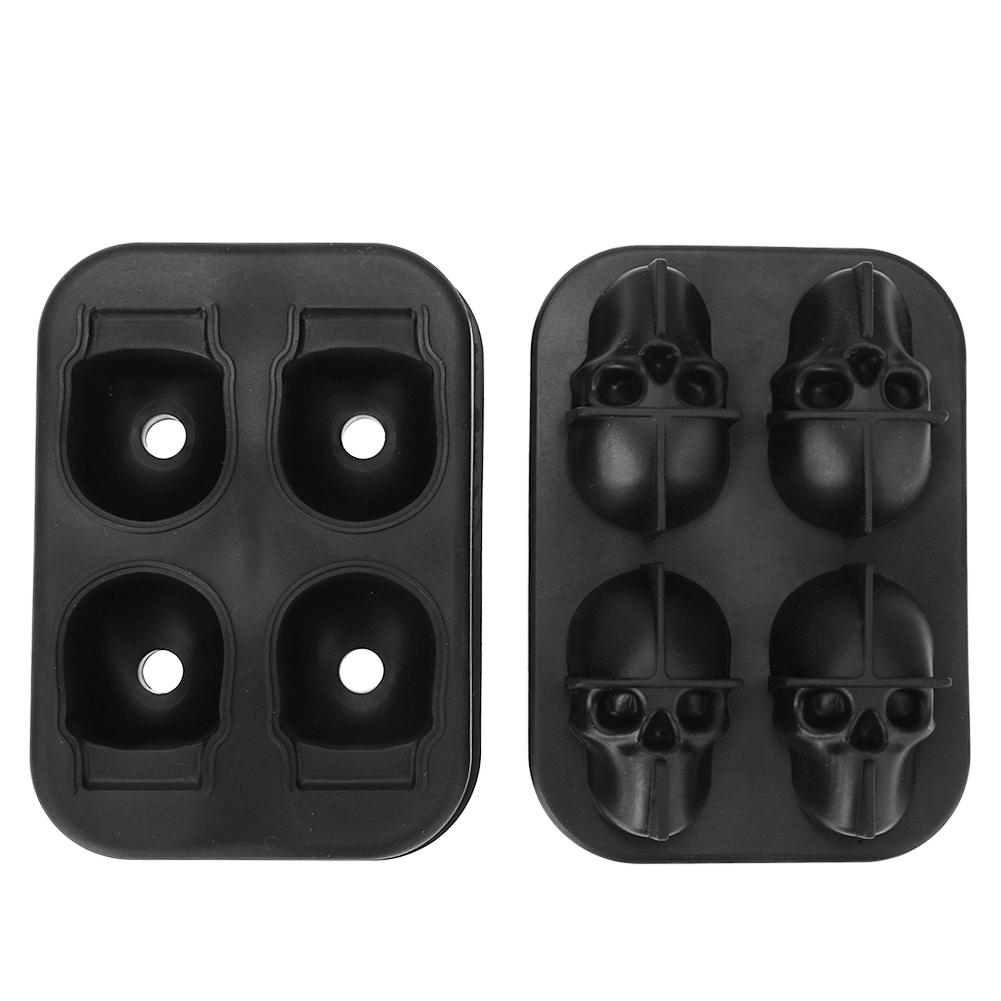 Silicone Skull Ice Molds
