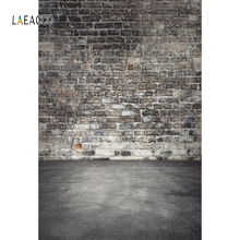 Laeacco Grunge Brick Wall Gradient Floor Portrait Customize Photographic Backgrounds For Photography Backdrops For Photo Studio customize washable wrinkle free rococo painting style forest photography backdrops for photo studio portrait backgrounds s 1250