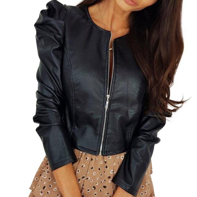 Zipper Short Leather  2