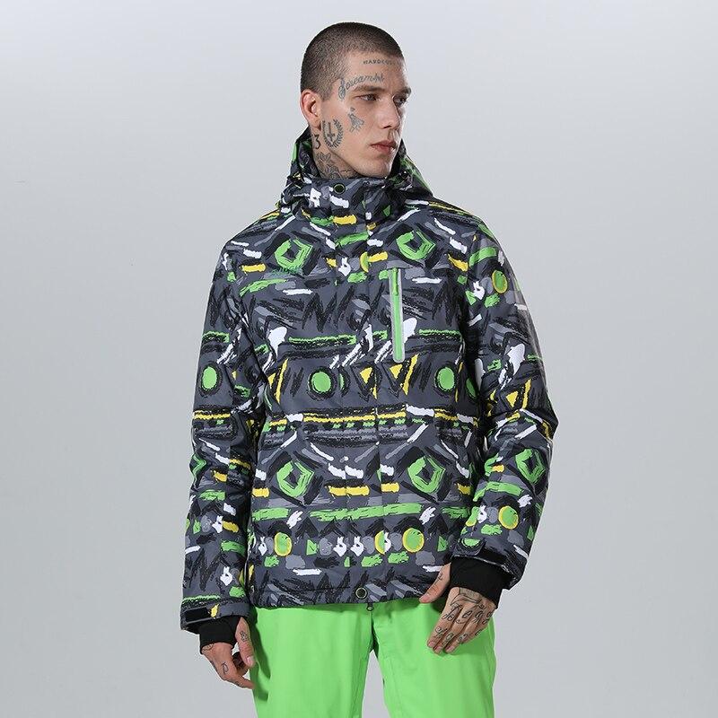 2019 High Experience Ski Jacket Men Winter Jacket Men Snowboard Jacket Male Snow Jackets Skiing Snowboard Sport Coat  Waterproof