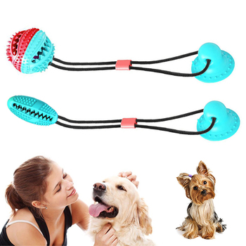 Durable Multifunction Biting Toys Designed With Wave Chewing Rubber For Pets