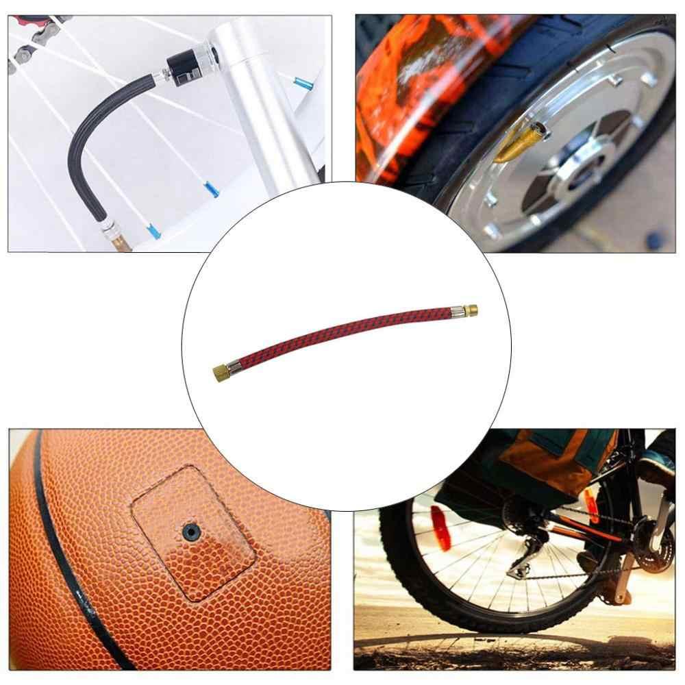 Bicicletta Pompe Gonfiare Pompa Tubo Della Pompa Adattatore Ago Basket Calcio Letto Aria Del Pneumatico della bicicletta adattatore pompa di Facile utilizzo T #