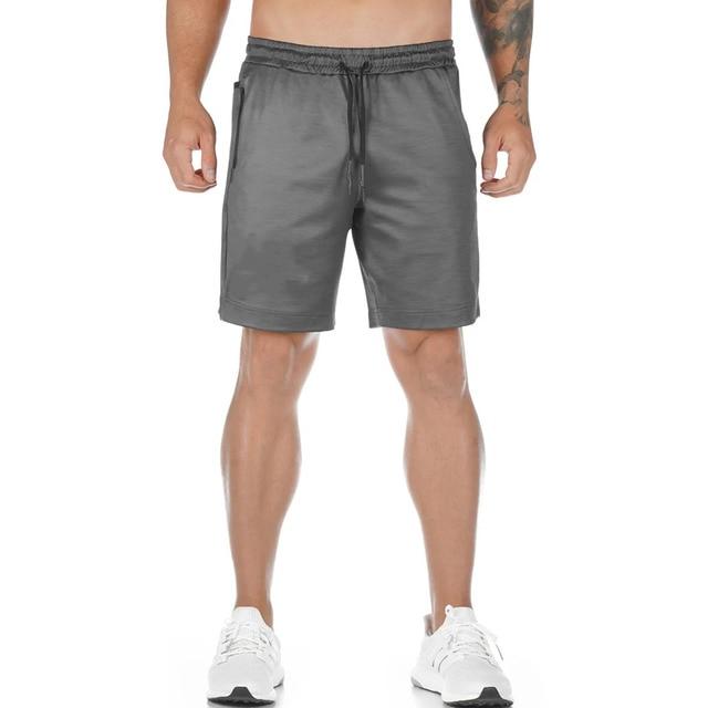 Running Quick dry Shorts Mens Gym Fitness Sports Bermuda Jogging Training Short Pants Summer Male Multi