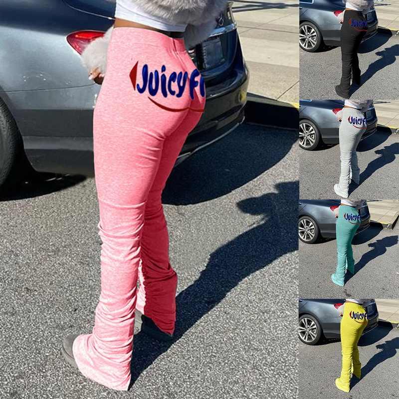 Leggings empilés joggers pantalons de survêtement empilés femmes pantalon froncé legging jogging femme pantalon empilé femme pantalon de survêtement