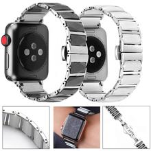Keramik Uhr Strap für Apple Uhr Band 6 se 5 4 42mm 38mm Uhr Armband Keramik Uhrenarmbänder für iWatch Serie 6 5 4 40mm 44mm cheap Geekthink CN (Herkunft) Andere ceramic Neu ohne Etiketten APB0309 buckle