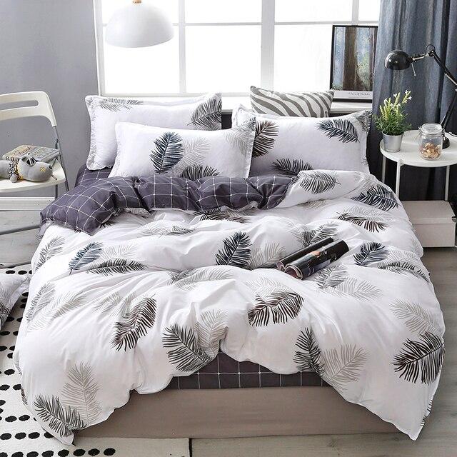 Lanke pamuk yatak takımları, ev tekstili e n e n e n e n e n e n e n e n e n e kral kraliçe yatak takımı ile Bedclothes yatak çarşafı yorgan seti yastık kılıfı