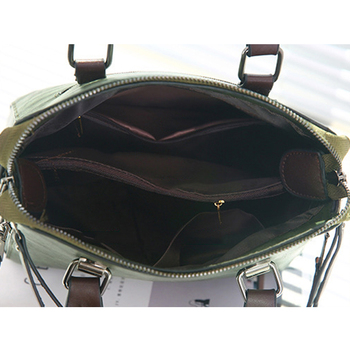 Luxury Vintage Ladies Leather Hand Bag Totes Tassel Crossbody Bag 10