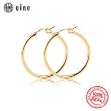 คู่ 14 K gold filled ต่างหูตะขอ 15 มม./19 มม./22 มม./29 มม./ 35 มม. ทองคลิปต่างหูต่างหู DIY การค้นพบเครื่องประดับ