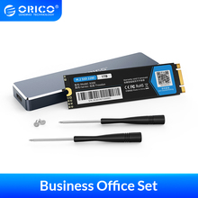 ORICO Business PSSD 128GB 256GB 512GB 1TB M.2 SATA SSD 2280 NGFF Solid State Hard Drive With USB C M.2 NGFF SSD Case  6Gbps