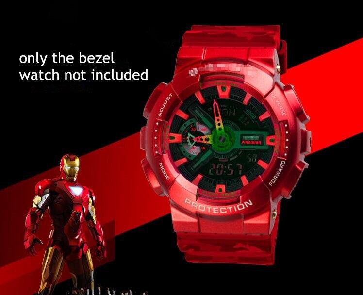 GA-100 110 GD120 GA-140 Stainless Steel Watch Bezel For Refine