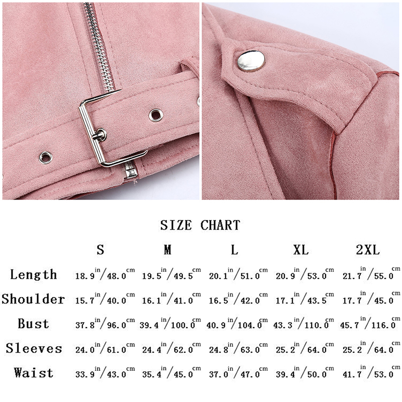 H9a7837eca15f46e4b5d47c171a8ecae0M Giolshon 2021 New Winter Women Thick Warm Faux Suede Jacket Coat With Belt Detachable Faux Fur Collar Leather Jackets Outwear