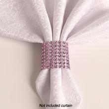 Buckle Curtain-Accessories Tieback-Napkin Crystal Window-Diamante Strap 2pcs 50--4cm
