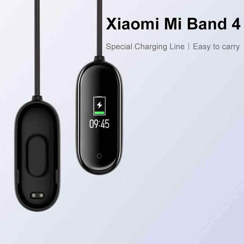 USB מטען עבור שיאו mi mi Band 4 3 2 20CM מטען כבל Dock טעינת כבל נתונים עריסת עבור שיאו mi mi Band 2 3 4 USB מטען