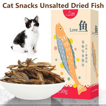 Pet Food Cat Snacks Unsalted Dried Fish  1