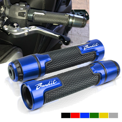 For SUZUKI GSF 250 600S 600 650 650S 650N 1250 1200 Bandit 650S 7/8'' Motorcycle Handle bar Caps / Handlebar Grips CNC 22MM
