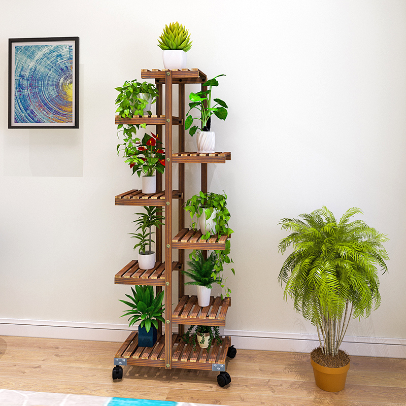 Indoor Balcony, Living Room, Flower Pot Shelf, Multi Meat Ground, Household Shelf, Special Price Of Provincial Space