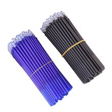 100Pcs/set Erasable Pen Refill 0.5mm Blue/Black Ink Writing For Office Students Stationery