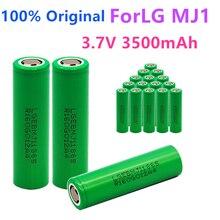 1 10PCS 100% מקורי MJ1 3.7 v 3500 mah 18650 ליתיום נטענת סוללה עבור פנס סוללות עבור LG MJ1 3500 mah סוללה