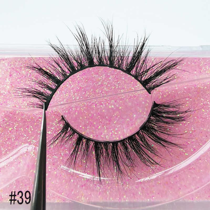 3D Wimpern Nerz Wimpern Handgemachte Make-Up Voll Streifen Wimpern Cruelty Free Luxus Nerz Wimpern Machen up Lash maquiagem faux cils