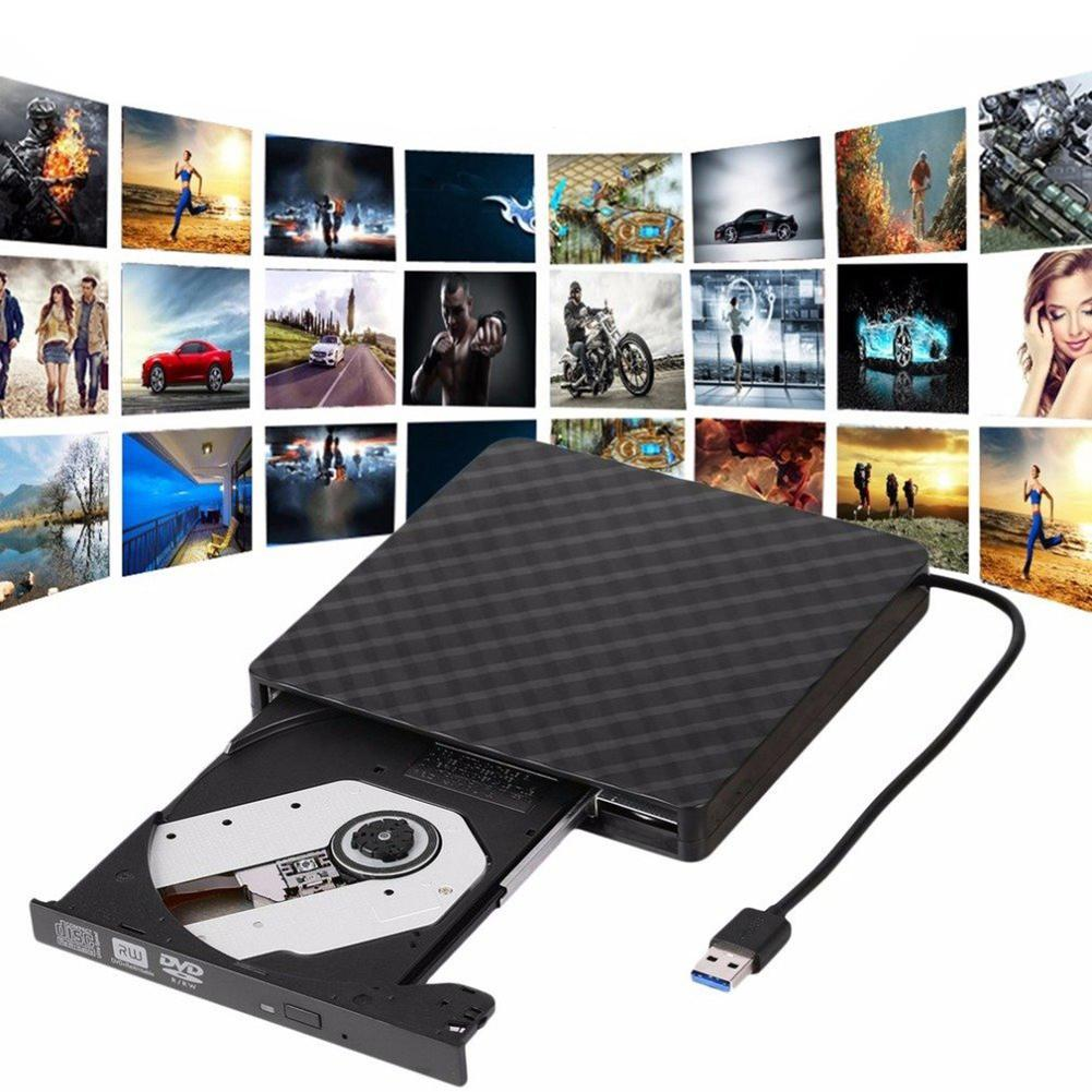 USB 3.0 External DVD Burner Writer Recorder DVD RW Optical Drive CD/DVD ROM Player for Loptop PC Computer