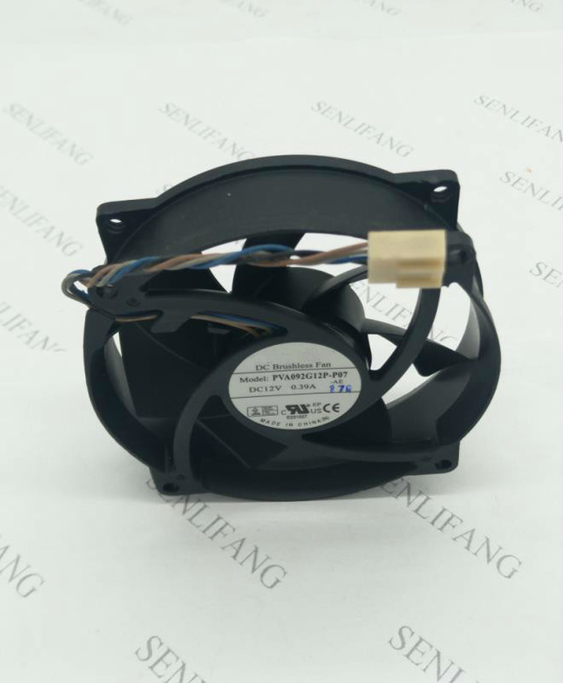 For FOXCONN PVA092G12P -P07-AE DC 12V 0.39A 92x92x25mm Server Cooler Fan Free Shipping