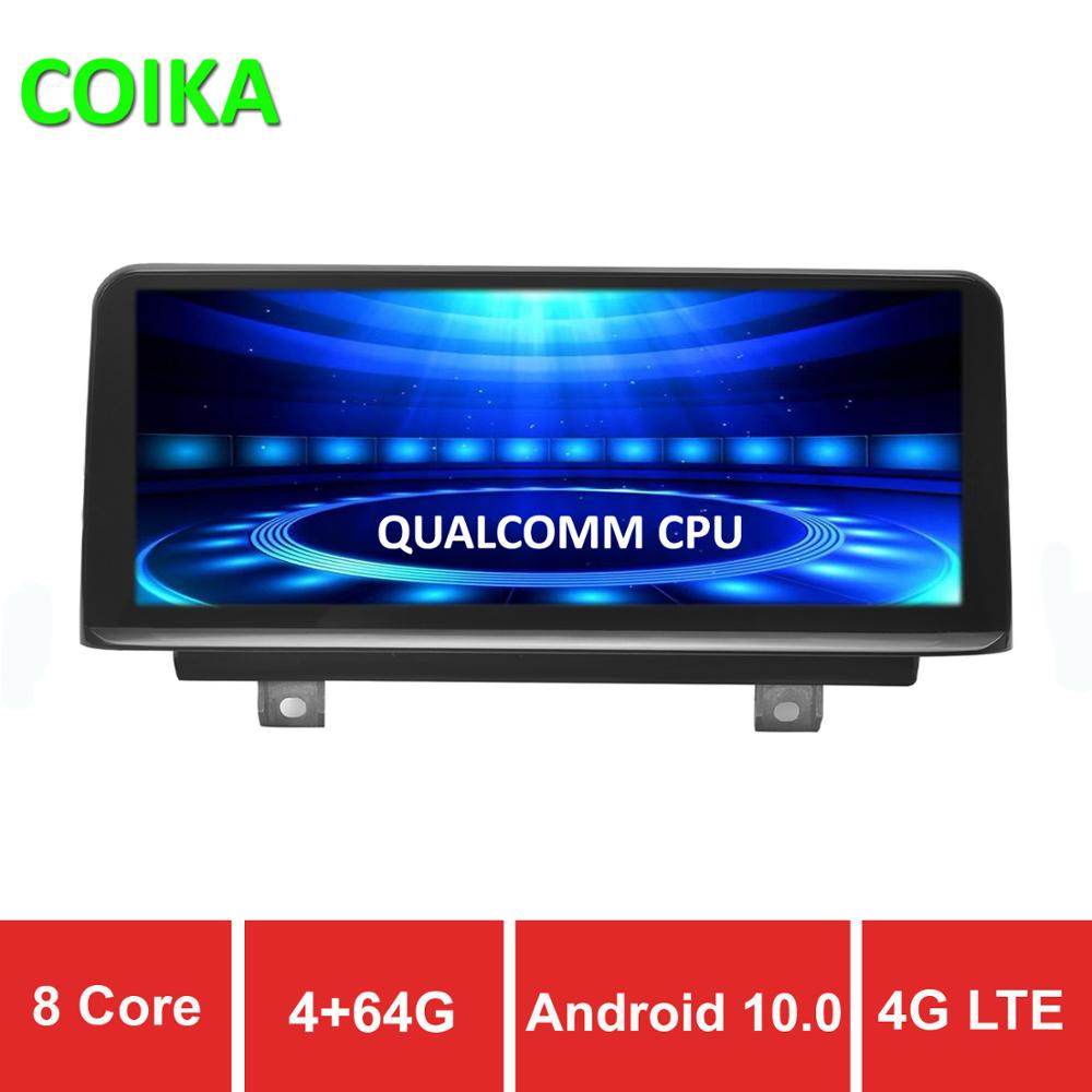 COIKA 8 Core <font><b>Android</b></font> 10.0 System Car Screen For <font><b>BMW</b></font> F30 F31 F32 F33 F34 F36 12-17 GPS Navi Stereo 4+64GB RAM WIFI 4G SIM BT IPS image
