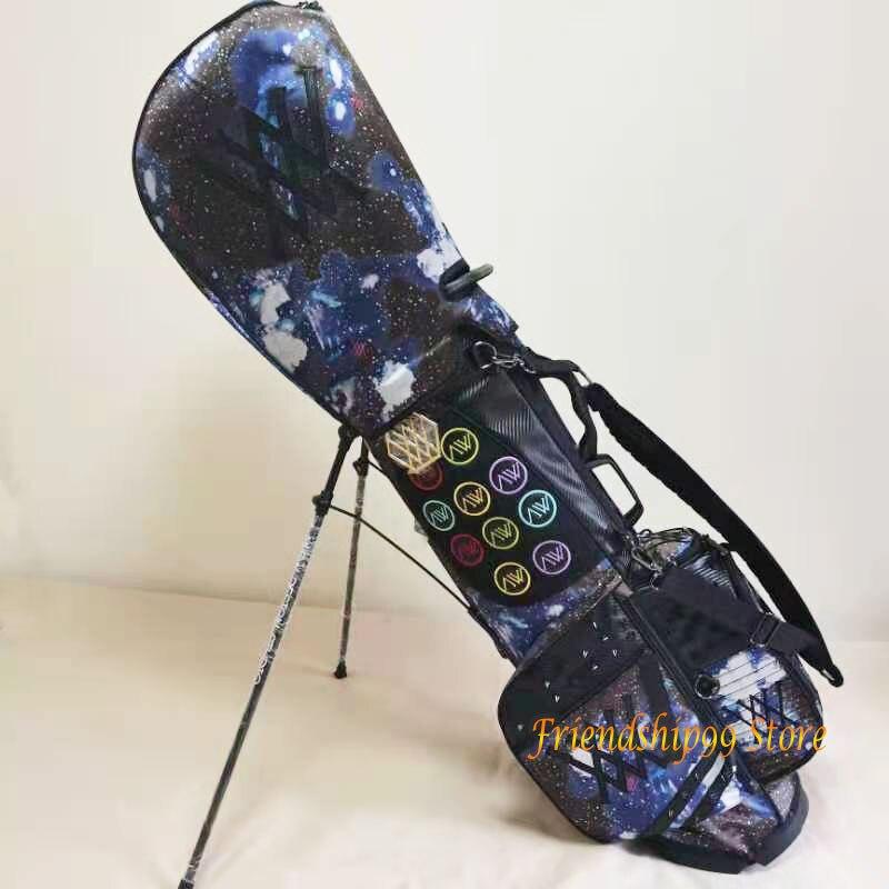 Golf Bags ANEW Golf cart bag Waterproof Big Capacity Packages Multi-Pockets Durable Bag Golf Club Equipments 2 Color 6