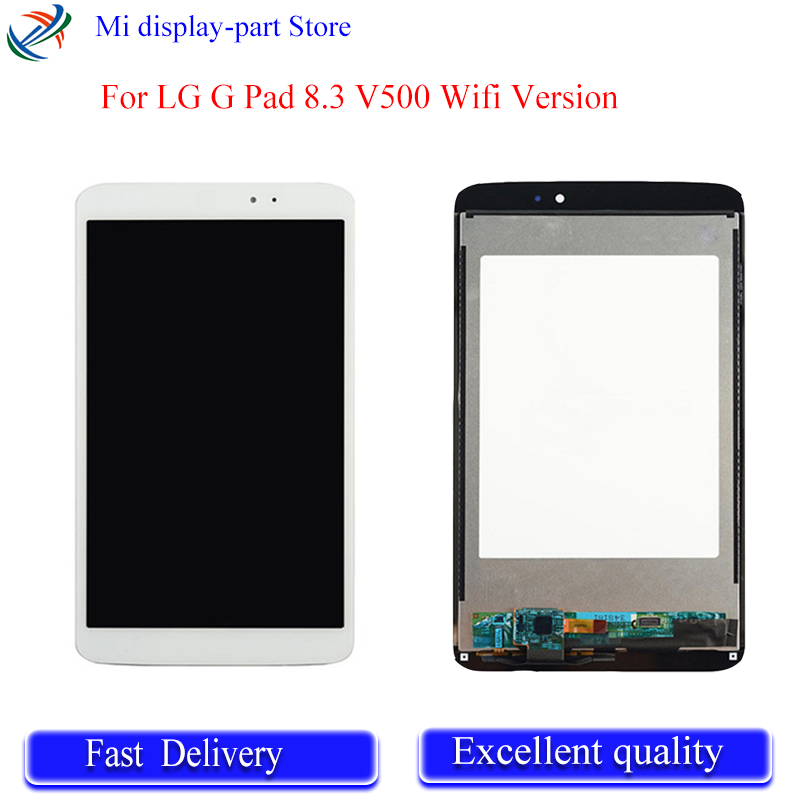 New 8.3'' inch LCD DIsplay + <font><b>Touch</b></font> <font><b>Screen</b></font> Digitizer Glass Assembly For <font><b>LG</b></font> G Pad 8.3 <font><b>V500</b></font> Wifi Version 100% test image