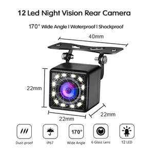 Image 4 - HD 5 дюймов 800*480 TFT LCD Складной автомобильный монитор для парковки задним ходом и 12 камера заднего вида со светодиодной подсветкой