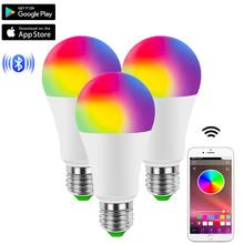 Light-Bulbs Decor-Light Led-Lamp Music-Control Neon Bluetooth Wireless Home RGB AC 85-265V