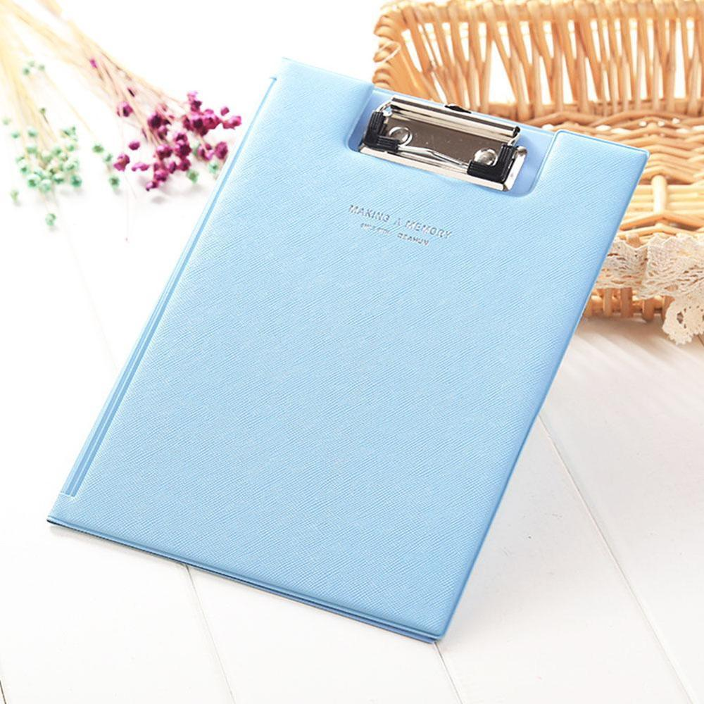 1PC A5 Waterproof Clipboard Writing Pad File Folder Document Holder Office Accessories School Stationery SupplIes