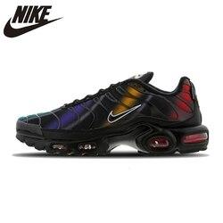 Мужские кроссовки для бега Nike Air Max Tn Plus, удобные спортивные кроссовки на воздушной подушке, легкие мужские кроссовки #918240-003