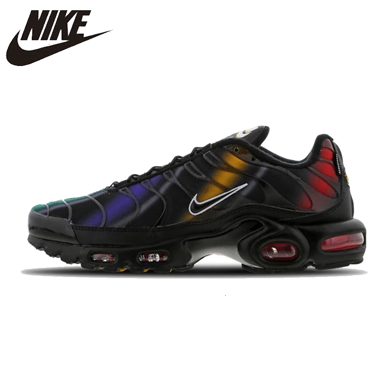 Nike Air Max Tn Plus Men Running Shoes Comfortable Air Cushion Outdoor Sports Sneakers Lightweight Sneakers Men #918240-003