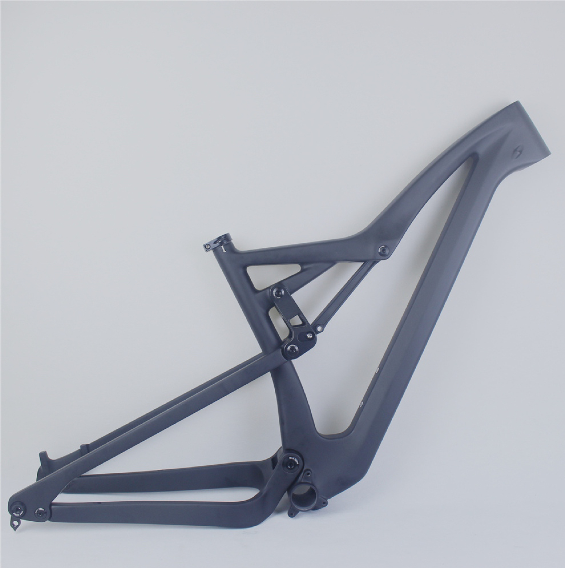 2021 New Full Suspension ALL  Mountain Bike Frame Carbon Fiber MTB Frame M08 Update  FM10 Disc Brake Post Accept Custom Painting