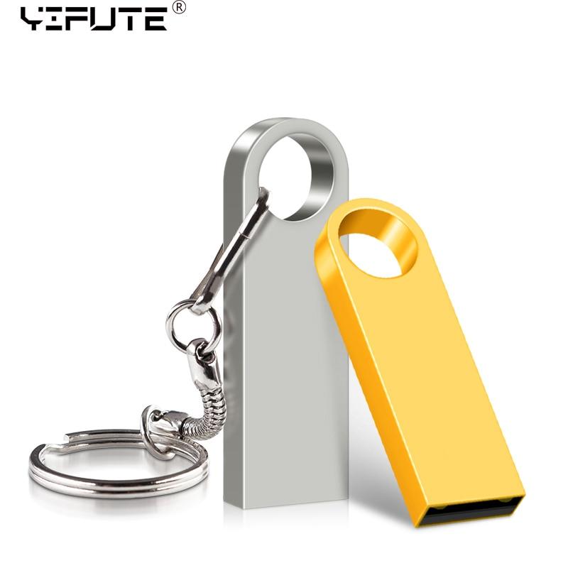 Flash-Drive Cle USB Metal Mini-Usb 64 128GB 16GB 128-256 256GB 32GB 64GB Stick 16-32
