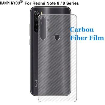 Перейти на Алиэкспресс и купить Для Xiaomi Redmi Note 8 9 8T 10X Pro 5G прочная 3D Защитная пленка для задней панели из углеродного волокна с защитой от отпечатков пальцев (не стекло)