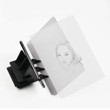Trwałe obrazowanie optyczne śledzenie ABS tablica do pisania soczewki malowanie szkicu lustro płyta śledzenie ploter do malowania początkujący tanie tanio ALLOYSEED NONE CN (pochodzenie) Drawing Board Optical Image 7 96x5 32 inch