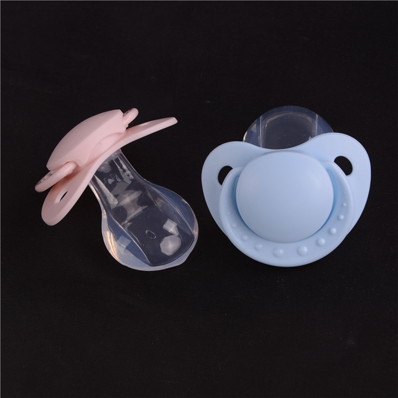 New Adult Nibbler Pacifier Feeding Nipples Adult Sized Design Back Cover Gift PR